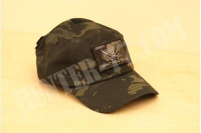 Condor MULTICAM-BLACK Tactical Patch & Hat Bundle (Calico Jack/DTOM patches)