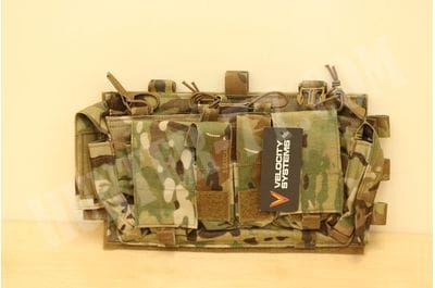 Mayflower SwiftClip Gen IV Placard Nylon multicam