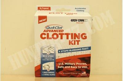 Кровоостанавливающий бинт QuikClot в комплекте 2021-09