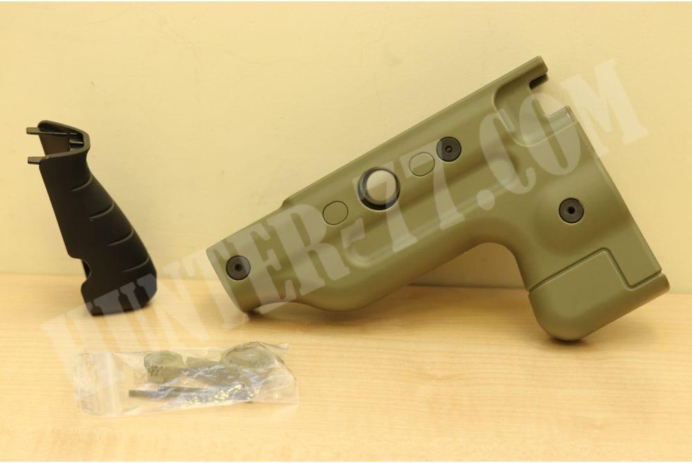 Сменный комплект зеленый рукоять и приклад складной  AI-26648