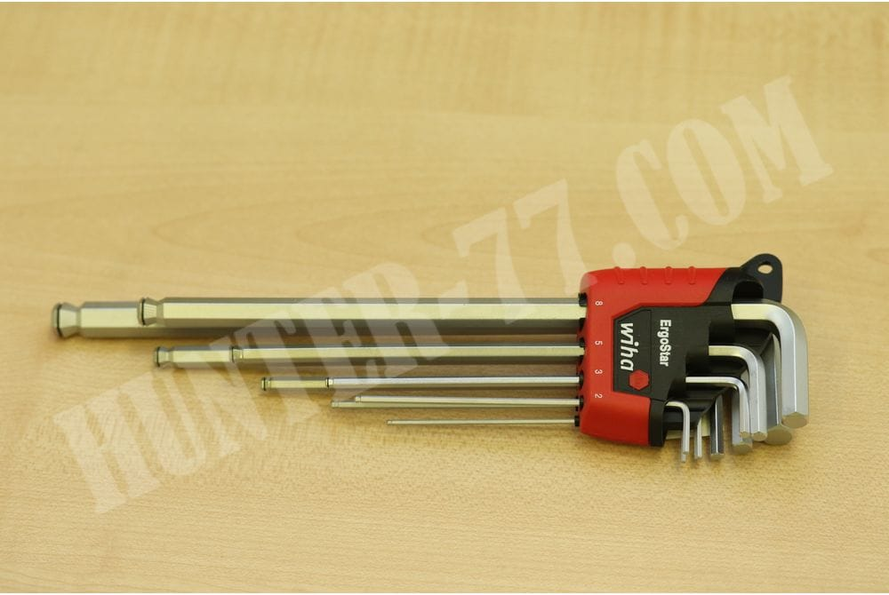 Комплект ключей Wiha 66996 ErgoStar