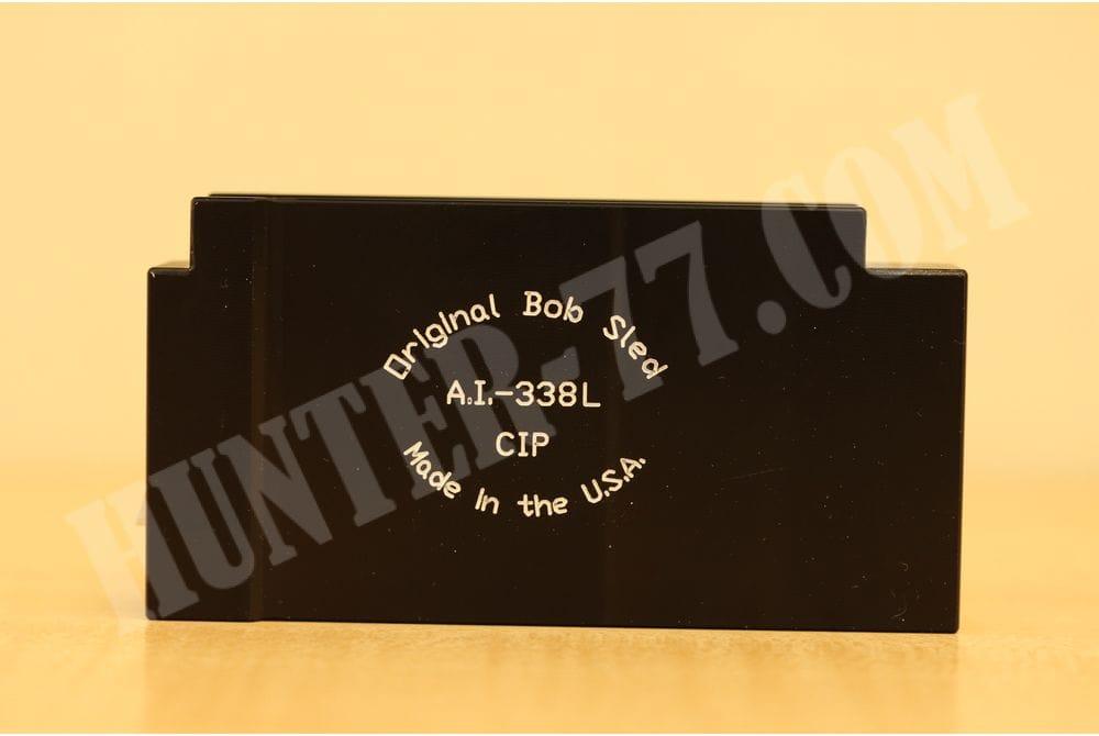 Магазин однозарядный Long Action AICS Bob Sled 338 Lapua Mag 1rd Aluminum Black