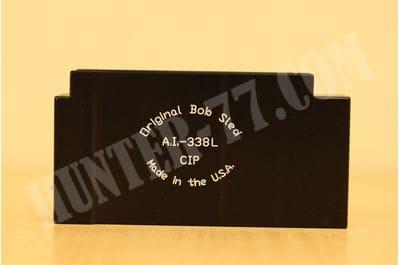 Long Action AICS Bob Sled 338 Lapua Mag 1rd Aluminum Black
