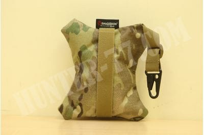 Armageddon ENHANCED REAR Standard BAG X-Wing MultiCam AI Hook 7 x 6 x 1.25""