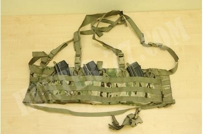 LONDON BRIDGE TRADING  LBT-2586 TAP Chest Rig Low Profile Modular MOLLE Multicam