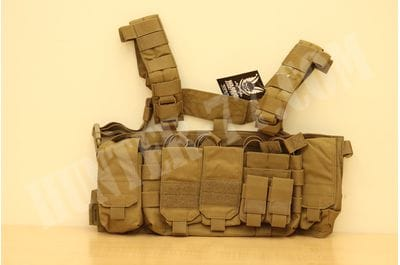 Falcon Chest Rig - Coyote Tan Warrior Assault Systems