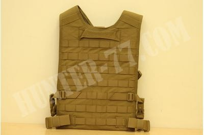 Back Panel - Coyote Tan Warrior Assault Systems