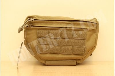 Drop Down Velcro Utility Pouch - Coyote Tan Warrior Assault Systems