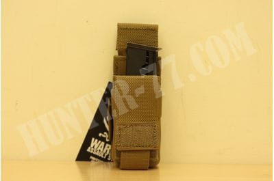 Direct Action Single DA 9mm Pistol Pouch - Coyote Tan Warrior Assault Systems