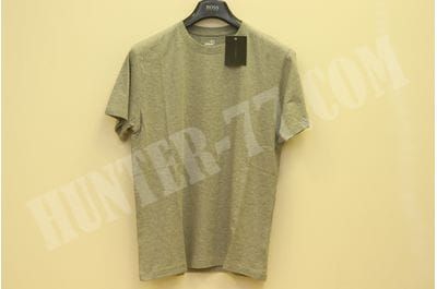 Shirt Agilite R&R Mens Crew Melange Grey