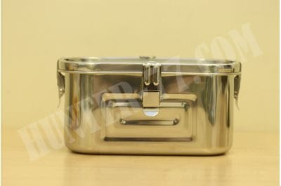 Stainless Steel 101oz (3L) Rectangular Seal Kimchi Food Leakproof Airtight Storage Container Saver