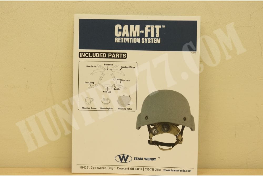 Система удержания шлема Team Wendy размер M/L койот