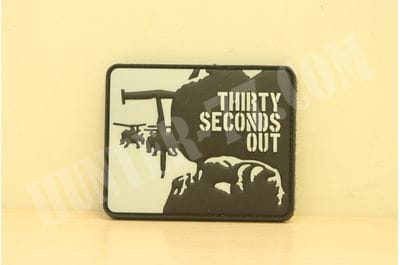 "Патч ""30 сек. готовности"" THIRTY SECONDS OUT GITD"