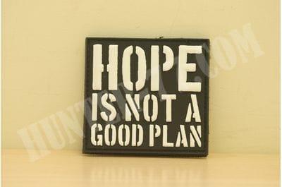 """Патч """"Надежда - плохой план"""""""