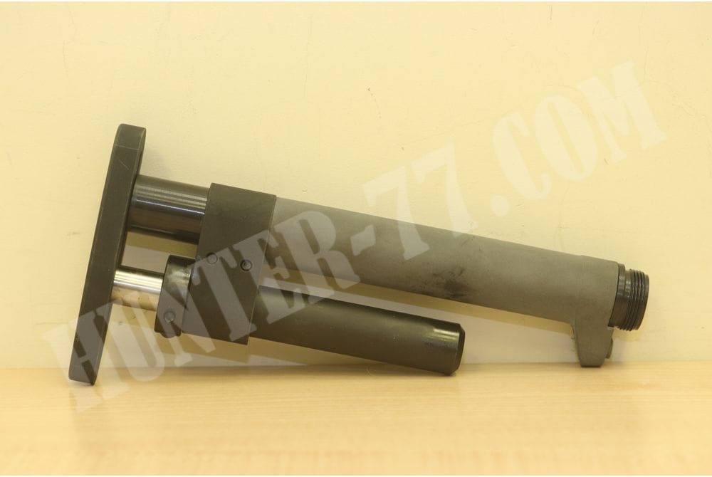 Регулируемый приклад EGW Whitley Space Stock Adjustable AR-15, LR-308 Aluminum Black