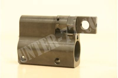 Adjustable 5 Position Gas Block for H&K 417 MR308 Waffen Burk