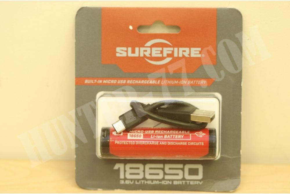 Аккумулятор 3.6V, 3500 mAh SureFire 18650