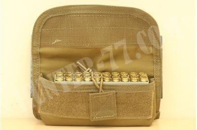 VooDoo Tactical 20 Round Shooter's Pouch w/MOLLE Straps On Back