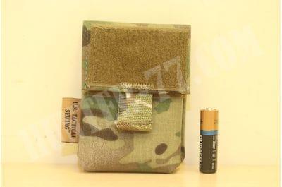 Подсумок под батарейки на велкро мультикам U.S. Tactical