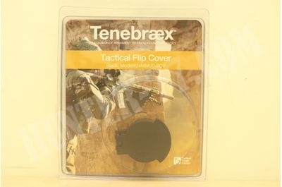 Tenebraex Tactical Tough Flip Cover for 24mm Diameter Objective Lens 24MMU0-FCV