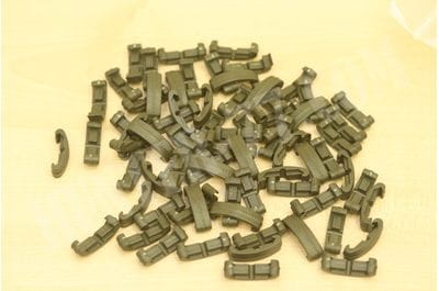 Larue Tactical IndexClips, 72 Piece Set OD Green