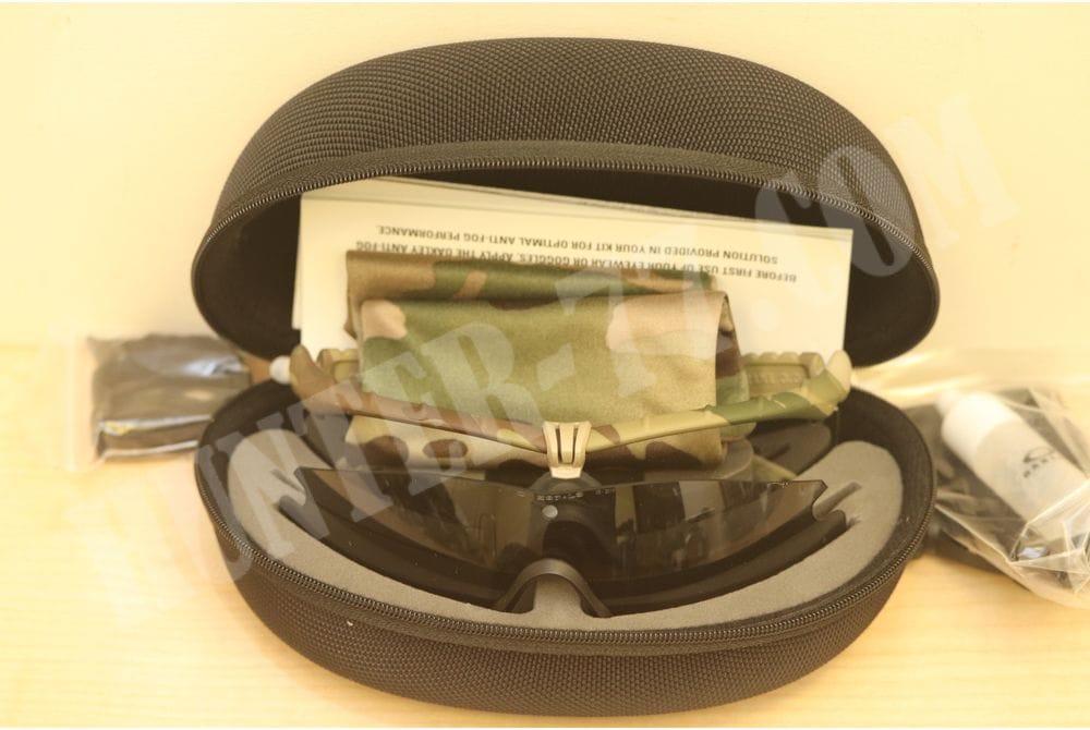 Очки Oakley SI Ballistic M-Frame 3.0 мультикам рамка + 2 линзы Clear + Gray