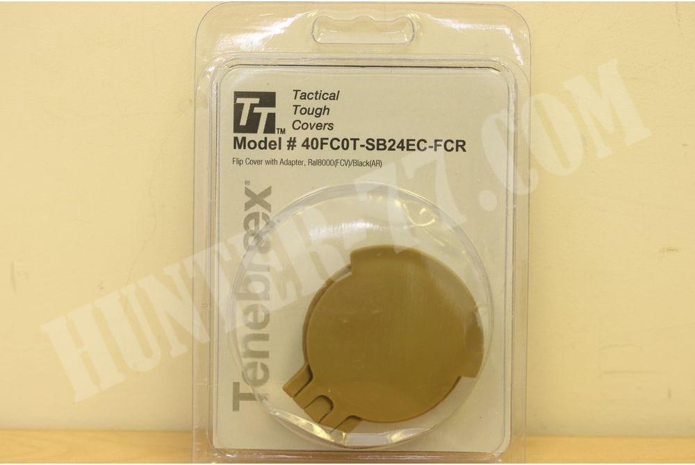 Крышка окуляра 24SBC1-FCR Schmidt & Bender 24mm Diameter Objective Lens RAL8000/Black 24SBC1-FCR+адаптер