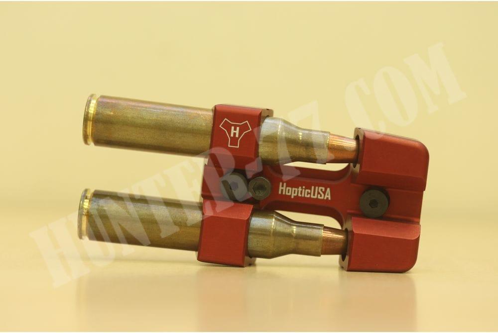 Алюминиевый держатель патронов .338LM KeyMod Красный HOPTIC USA