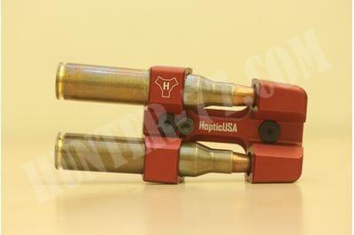 Алюминиевый держатель патронов .338LM M-LOK Красный HOPTIC USA