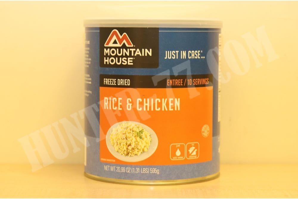 Курица с рисом в пикантном соусе. Банка 10 порций
