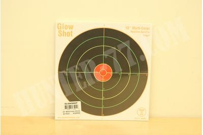 "50 Pack - 10"" Reactive Splatter Targets  Glowshot Multi Color Glow Shot"