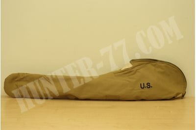 "U.S. WWII Fleece Lined M1 Garand Case 45"" - Marked U.S"