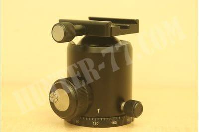 SUNWAYFOTO FB-52 GNN No Neck 52mm Tripod Ball Head Arca/RRS Compatible 44lb Max Load Sunway Ideal for Target Shooting