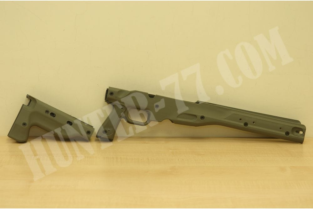 Комплект сменных накладок Accuracy International AW SHORT ACTION OD GREEN 2.0 FOLDING