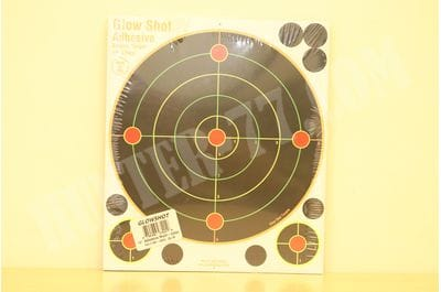 "50 Pack - 10"" Reactive Splatter Targets Multi Color Glow Shot"