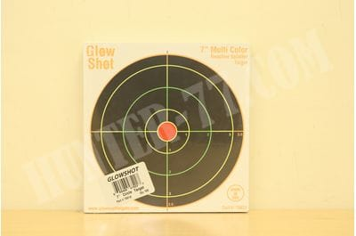 "100 pack - 7"" Reactive Splatter Targets - GlowShot - Multi Color"