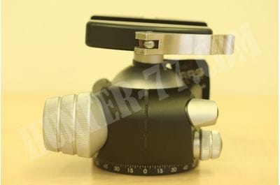BH-55 BALL HEAD + Lever-release style quick-release clamp , 80 mm Really Right Stuff