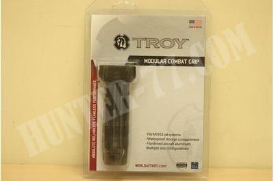 TROY INDUSTRIES, INC. PICATINNY MODULAR COMBAT GRIP Aluminum Black