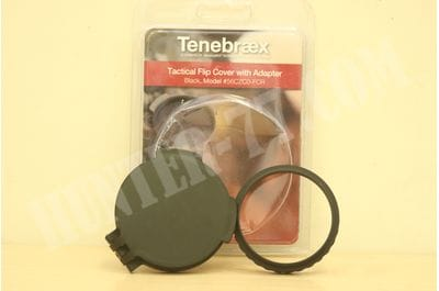 Tenebraex Objective Flip Cover w/ Adapter Ring for Hensoldt and Zeiss Scopes 56CZC0-FCR
