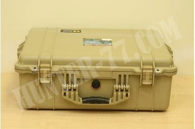 Pelican 1600 Camera Case With Foam (Desert Tan)