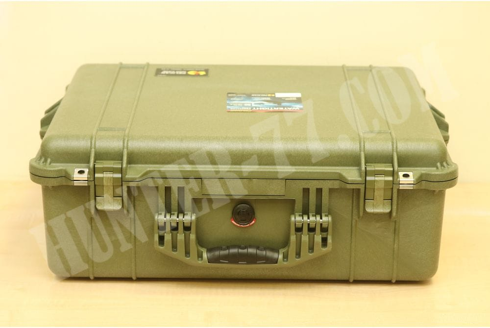 Кейс с пеной Pelican 1600 Camera Case With Foam (OD Green)