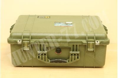 Pelican 1600 Camera Case With Foam (OD Green)