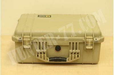 Pelican 1550 Camera Case With Foam (Desert Tan)