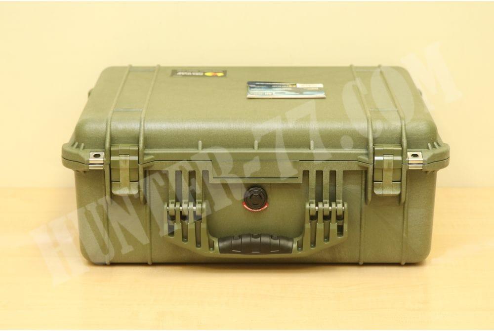 Кейс с пеной Pelican 1550 Case with Foam (Olive Drab Green)
