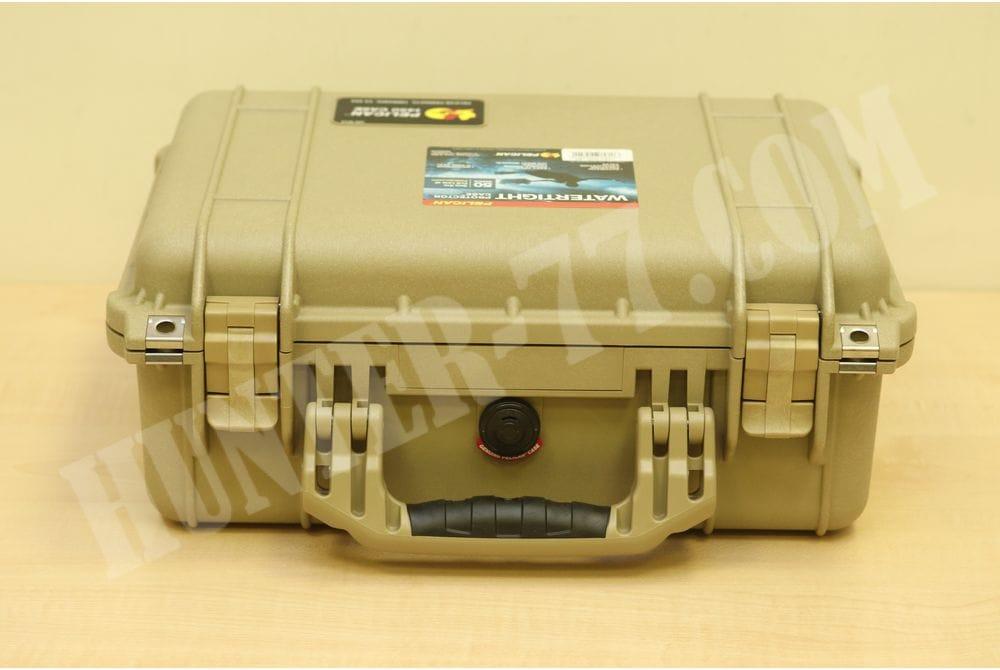 Кейс с пеной Pelican 1450 Case With Foam (Desert Tan)