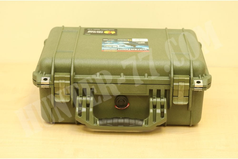 Кейс с пеной Pelican 1450 Case With Foam OD Green