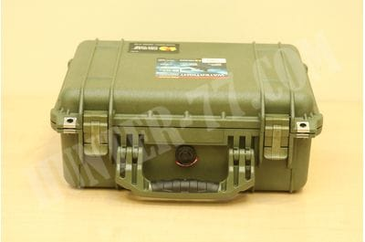 Pelican 1450 Case With Foam OD Green