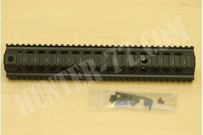 Troy Industries Bravo Battle Rail Free Float Quad Rail Handguard AR-15 STRX-BR1-13BT-00