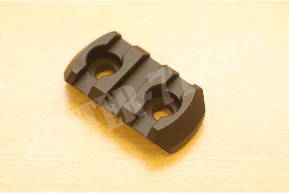 """Направляющая 1,5"""" Magpul 3 Slots M-LOK Aluminum Picatinny Accessory Rail, Black"""