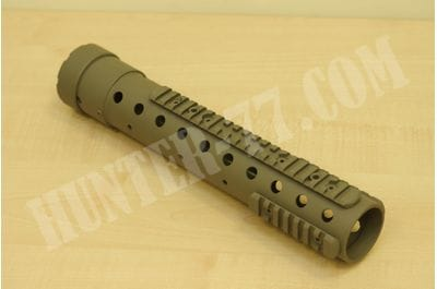 PRI Gen III Free Float Tube Handguard AR-15 Carbon Fiber Flat Dark Earth - 12,5 inch